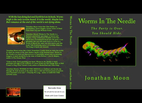 click the image to follow the neon worm road.