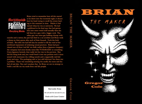 Brian has been a naughty boy. 'CLICK' to see how (Kindle & Print)